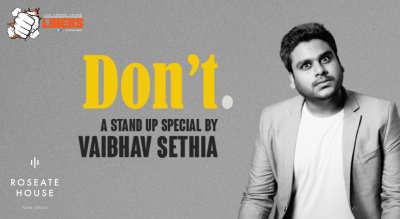 Punchliners: Standup Comedy Show ft. Vaibhav Sethia in Delhi
