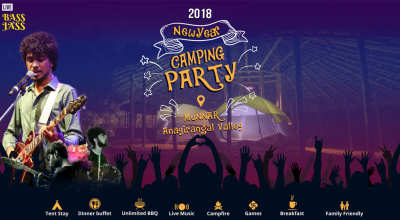 New Year Camping Festival in Munnar