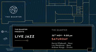 Live Jazz at The Quarter