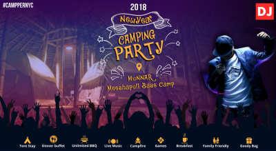Campper Meeshapuli Base Camp, Munnar