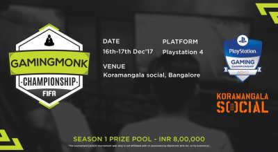 GamingMonk Championship Series - FIFA, Bangalore