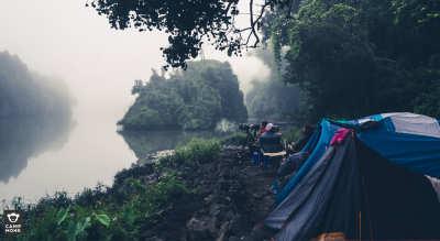 Dial Down: New Year Camping at Dandeli