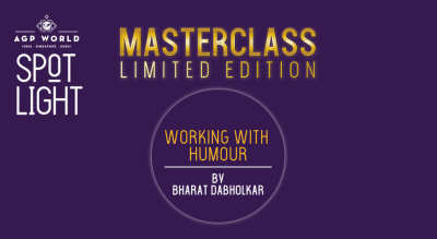 Working With Humour (with Bharat Dabholkar)