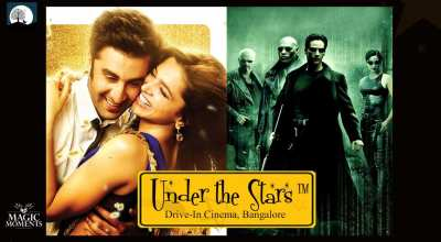 Magic Moments Under The Stars: Screening of Yeh Jawaani Hai Deewani & The Matrix
