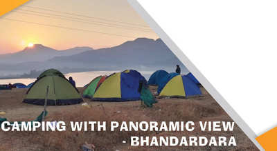 Camping With Panaromic View Bhandardara