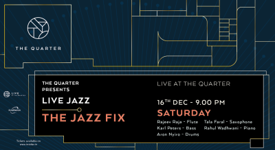 The Jazz Fix at The Quarter