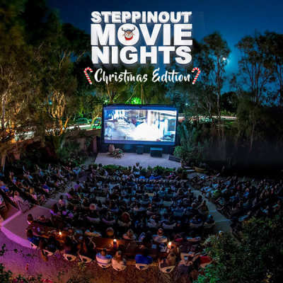 Watch Movies In The Outdoors with SteppinOut Movie Nights!
