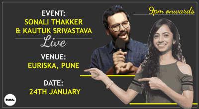 Kautuk Srivastava & Sonali Thakker LIVE