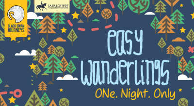 Easy Wanderlings : One Night Only!