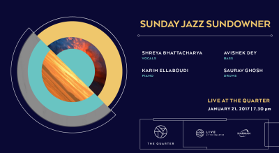 Sunday Jazz Sundowner at The Quarter