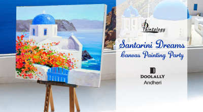 Santorini Dreams - Canvas Painting Party