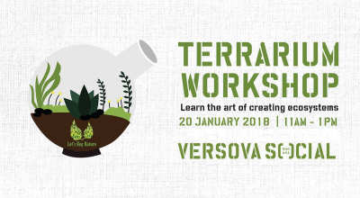 Terrarium Workshop at #VersovaSocial
