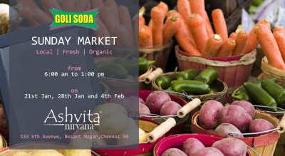 GoliSoda's Sunday Market
