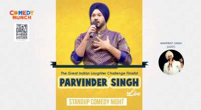 Parvinder Singh Live – Standup Comedy Night