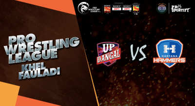 Pro Wrestling League: UP Dangals vs Haryana Hammers