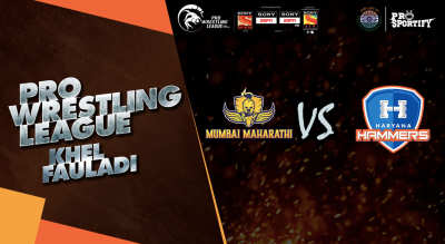 Pro Wrestling League: Mumbai Maharathi vs Haryana Hammers
