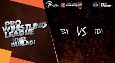 Pro Wrestling League: Semi Final - 1
