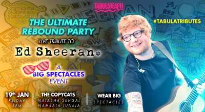 Ed Sheeran LIVE Tribute - The Ultimate 'Rebound' Party