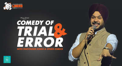 PunchLiners: Comedy Of Trial & Error (Open Mic) in Delhi