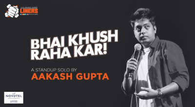PunchLiners: Standup Comedy Show ft. Aakash Gupta in Lucknow
