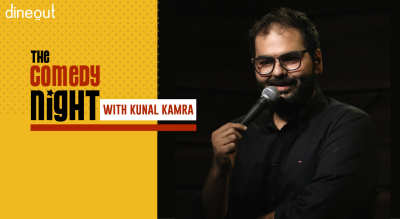 Dineout Presents The Comedy Night with Kunal Kamra