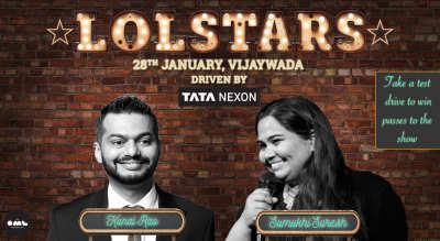 LOLStars ft. Kunal Rao & Sumukhi Suresh, Vijaywada
