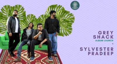 THT presents Grey Shack (Album Launch) + Sylvester Pradeep