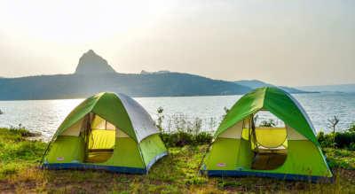 Camping at Lonavala Pavana Lake Campsite