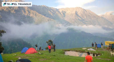 Mcleodganj Camping with Travel Triangle