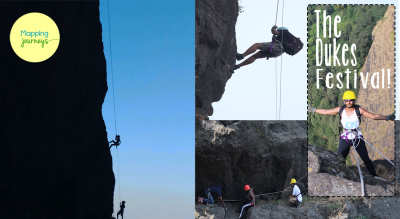 Trekking - Rappelling - Cliff Traversing!