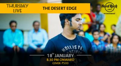 The Desert Edge - Thursday Live!