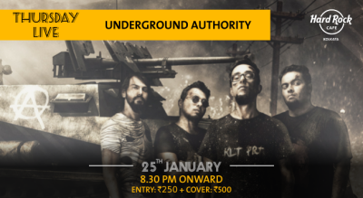 Underground Authority - Thursday Live!