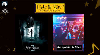 Magic Moments Under The Stars: Screening of Conjuring 2 & Dancing Night Under the Stars