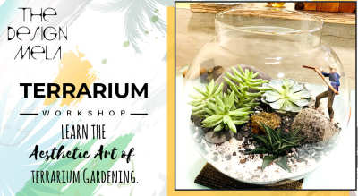 Terrarium Workshop by Design Mela