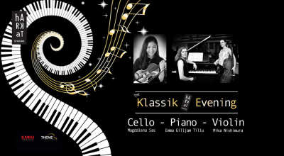 Klassik Evening - INTL. Trio: Violin, Cello, Piano