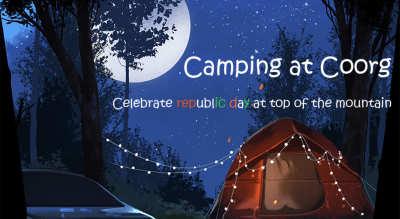 Camping at Coorg - Tiranga Special