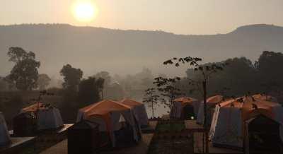 Camping at Khopoli Kalote Lake