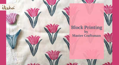 Block Printing by Master Craftsman