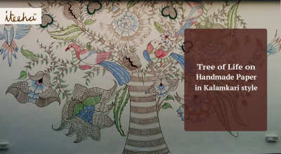 Tree of Life in Kalamkari Style
