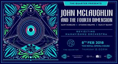 The Quarter Presents: John McLaughlin & The 4th Dimension