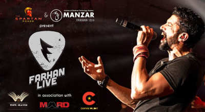 Manzar Version 12.0 presents Farhan LIVE