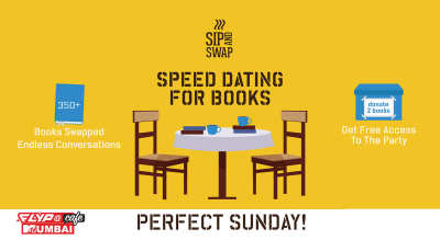 Sip And Swap : Speed Dating For Books