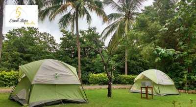 Camping at Orchard Farm, Dahanu