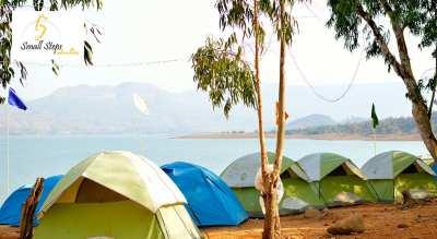 Lakeside Camping at Pawana Lake, Lonavla.