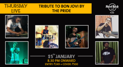 Tribute to Bon Jovi by The Pride - Thursday Live!