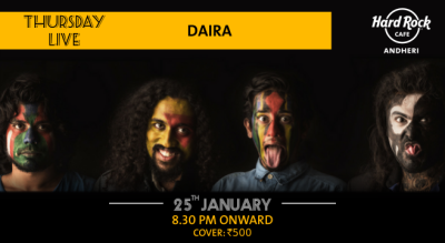 Daira - Thursday Live!