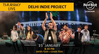 Delhi Indie Project - Thursday Live!
