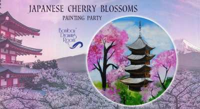 Japanese Cherry Blossom - Painting Party