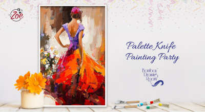 Palette Knife Painting Party