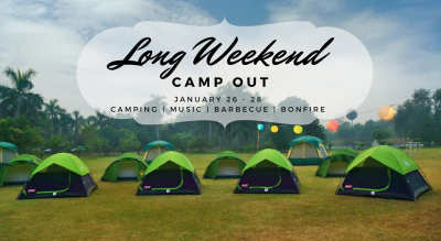 Long Weekend Camp Out